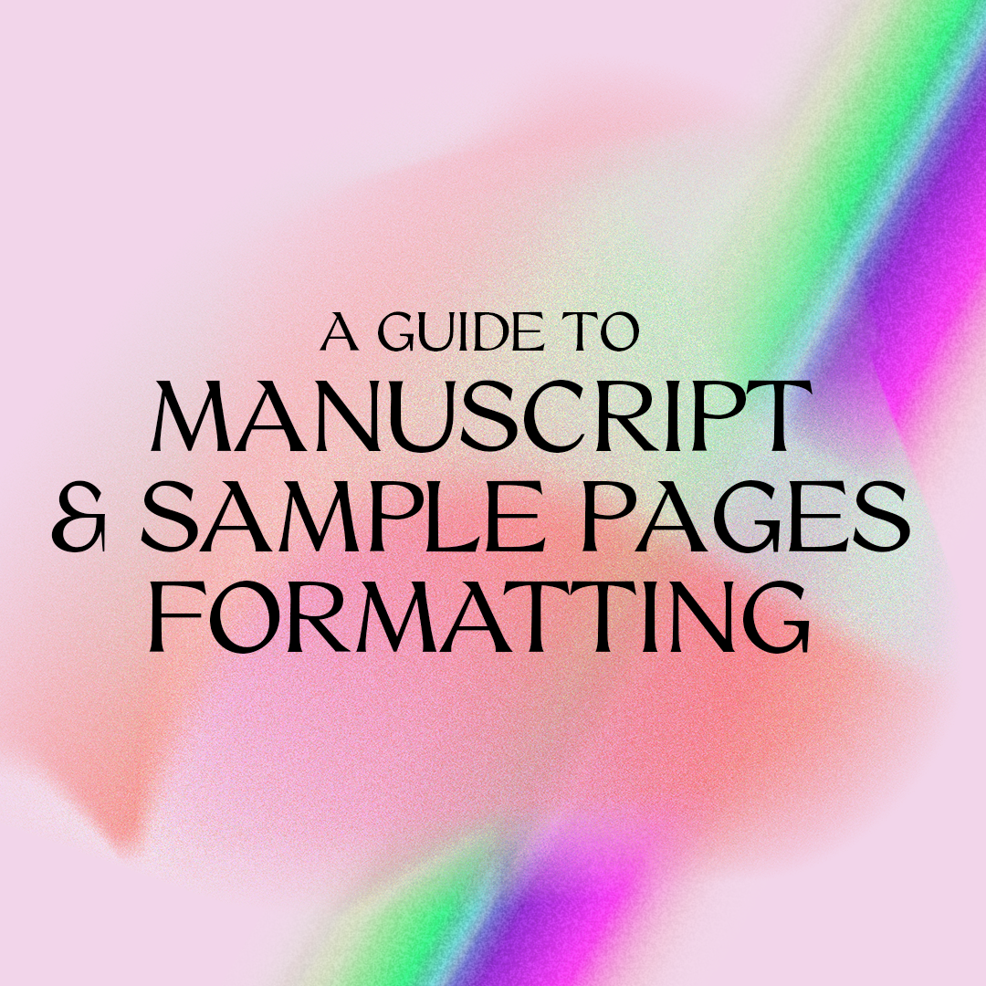Manuscript Formatting u0026 Submitting Sample Pages
