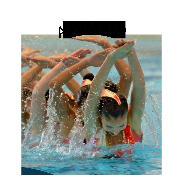 Compétition de natation synchronisée au centre sportif des Vernets ...
