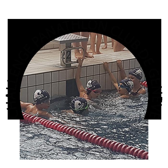 CHALLENGE PANATHLON CLUB DE GENEVE Compétition organisée par le GN1885, réservée aux jeunes nageurs (compétiteurs et non compétiteurs) du Canton de Genève. Tous les nageurs olympiques Genevois ont participé à cette magnifique compétition. La première compétition cantonale pour les jeunes nageurs Genevois. Dates: 01.03.17 / 05.04.17 / 03.05.17 Cliquer ici pour charger le réglement