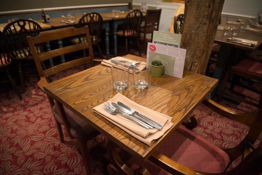A table at the best food pub in Banbury