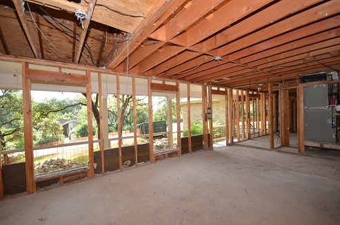 whole house remodel in Rollingwood near Austin Texas