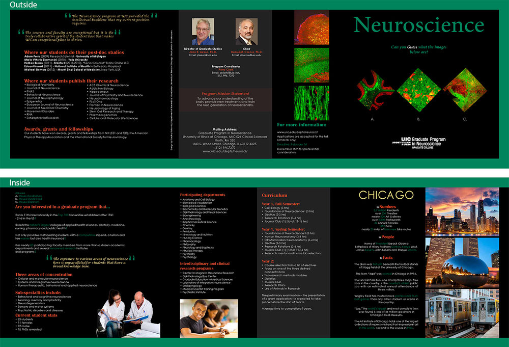 Neuroscience brochure