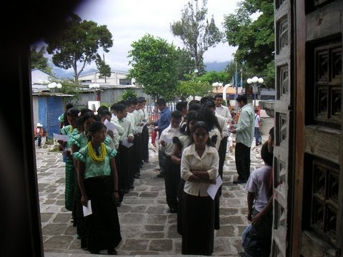 The Graduation Procession