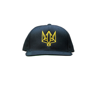 fe59a928b13f7 ZALE Black and Gold Snapback