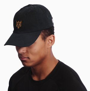 d507c5ed371c5 Zale Black and Gold Dad Hat ...