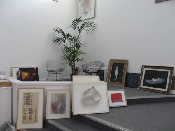 Three stages of preparing this lavish and highly popular exhibition