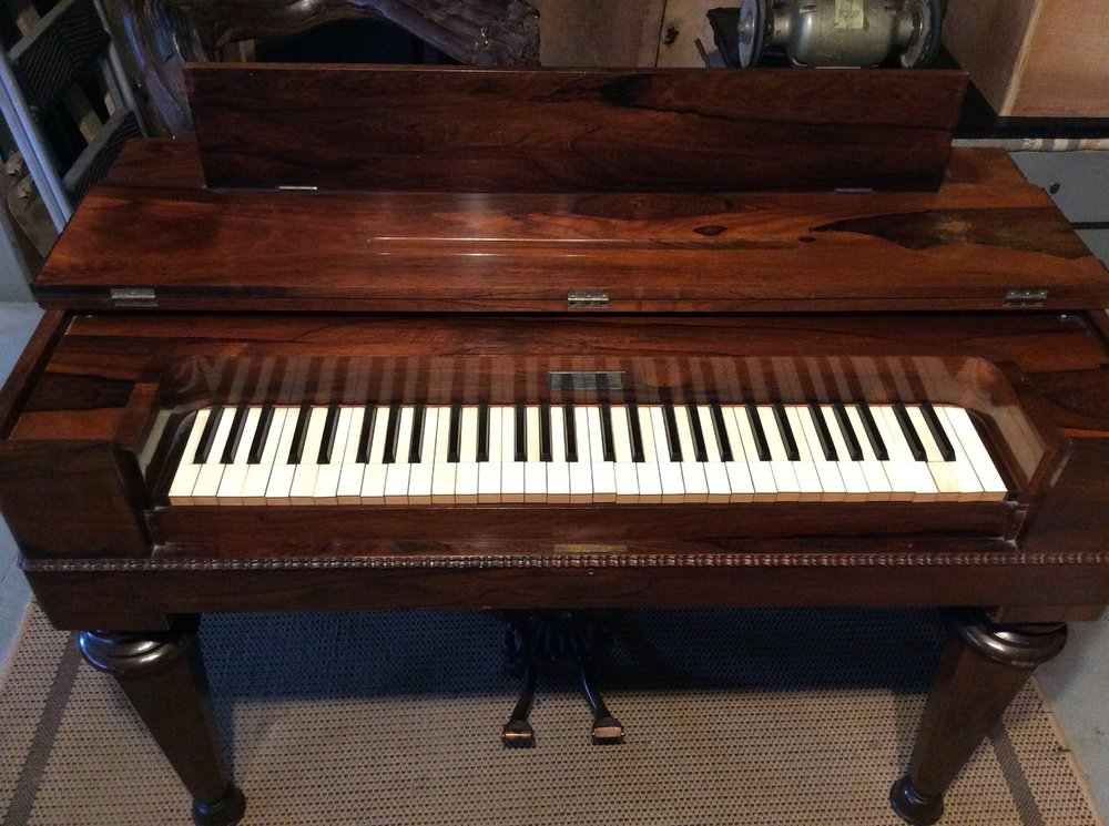 "I'm one of the few people in the U.S. to restore melodeons and pump organs......here's an 1850's ""Prince"" restored to full working order."