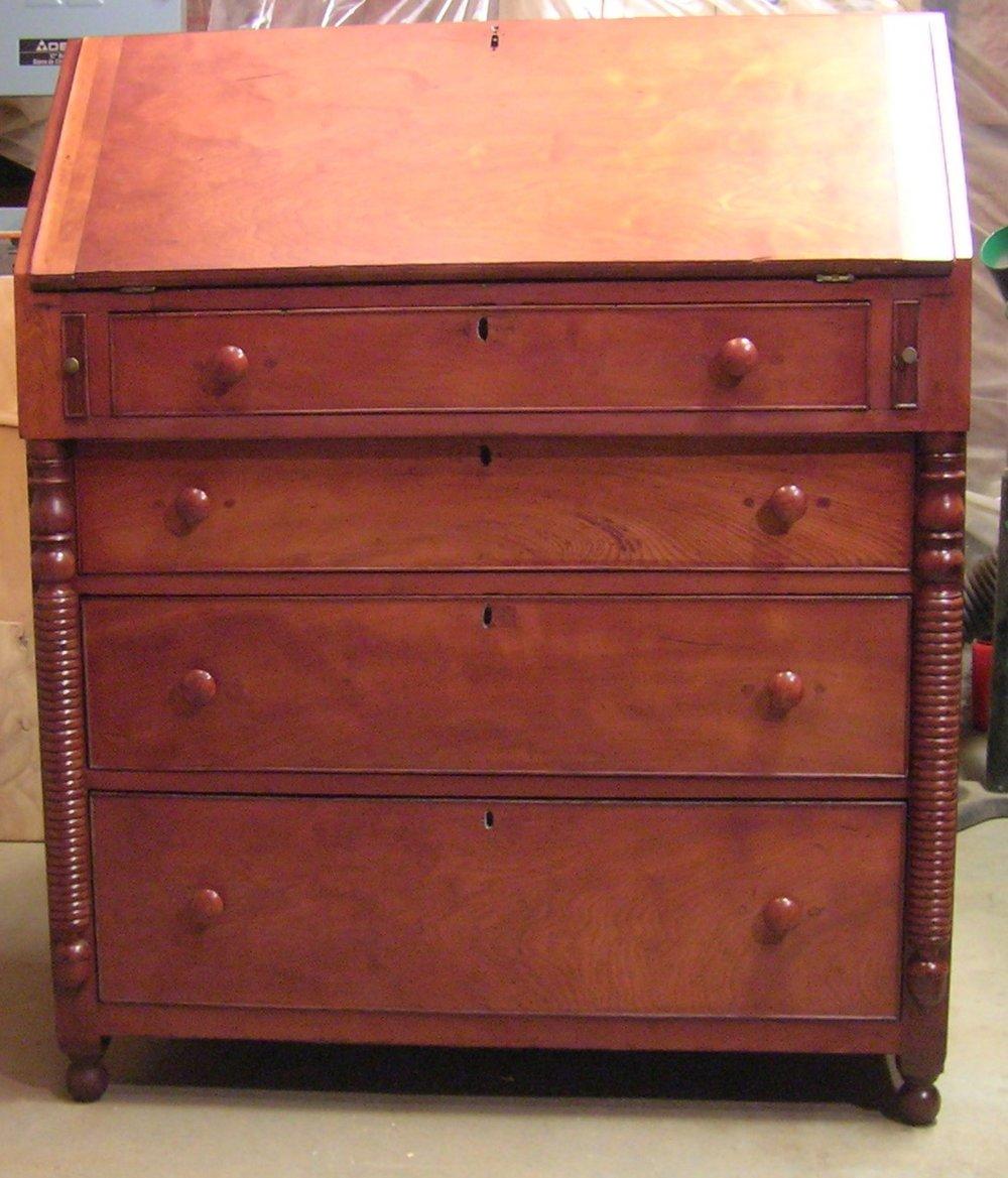 Cherry desk c. 1870