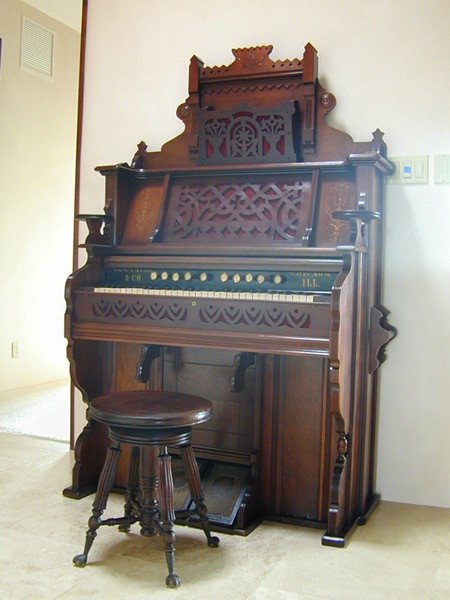Pump organ restoration.