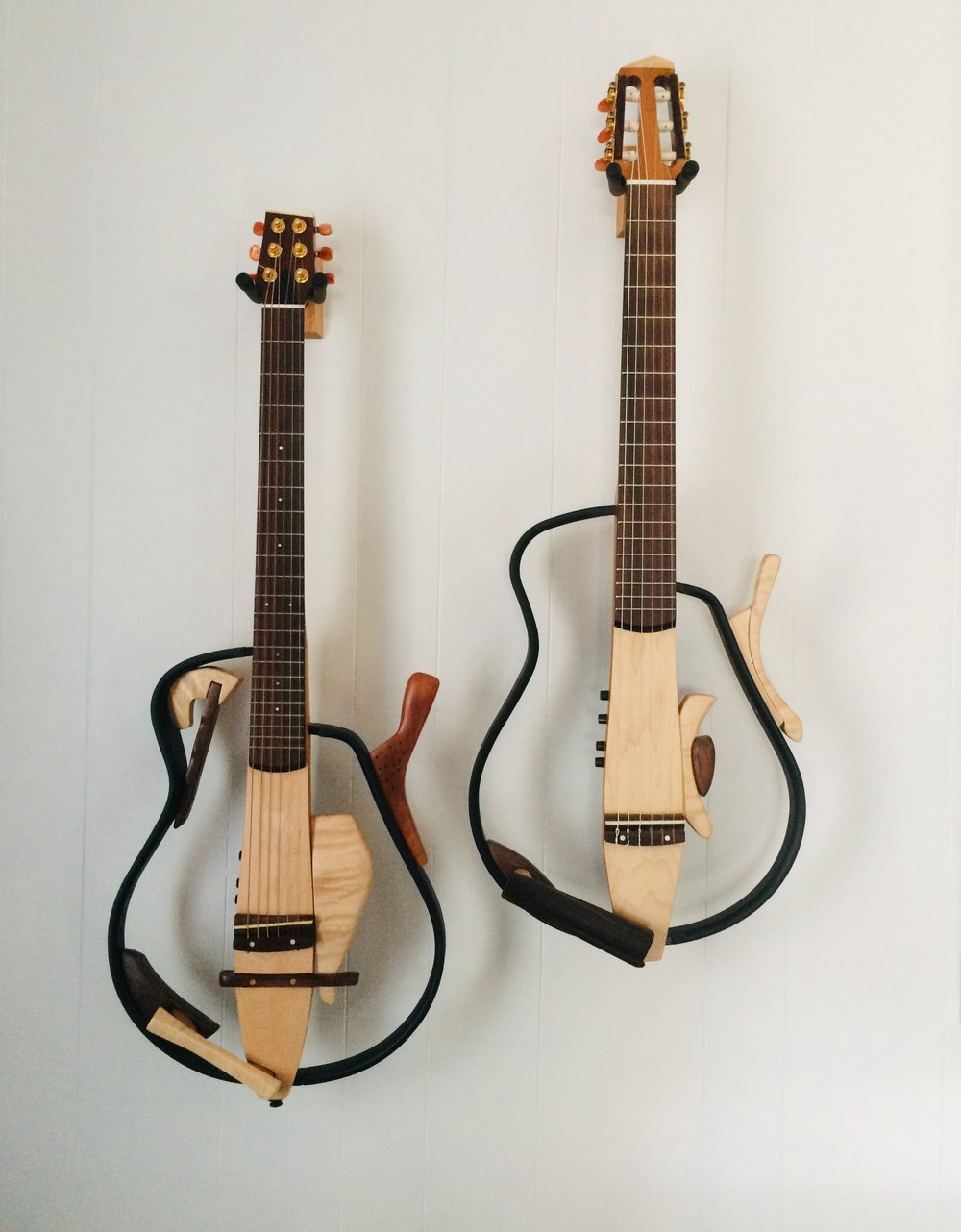 Two redesigned Yamaha Silent guitars……$3500.00 each