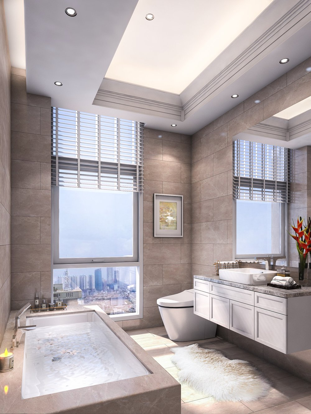 Signature - Master Bathroom