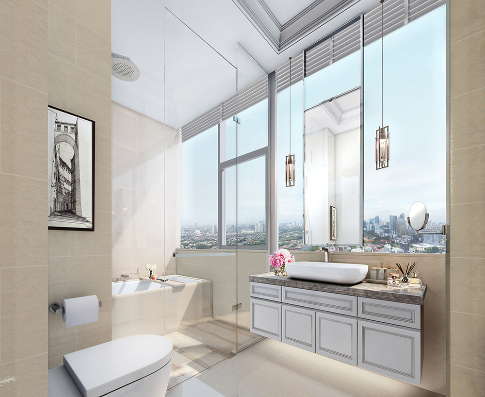 Signature Suites - Master Bathroom
