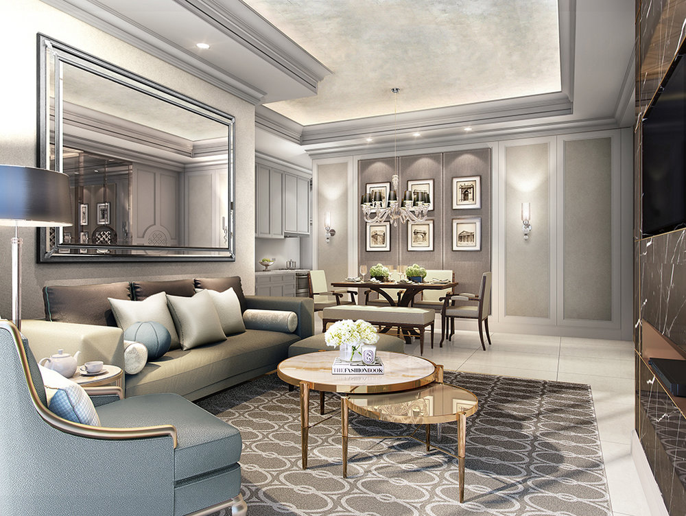 Signature Suites - Living Room