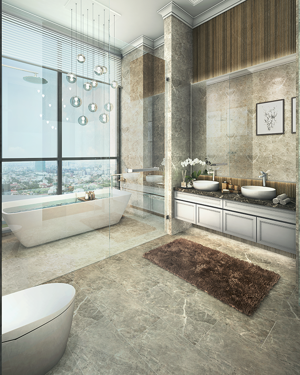 Sky Villa - Master Bathroom