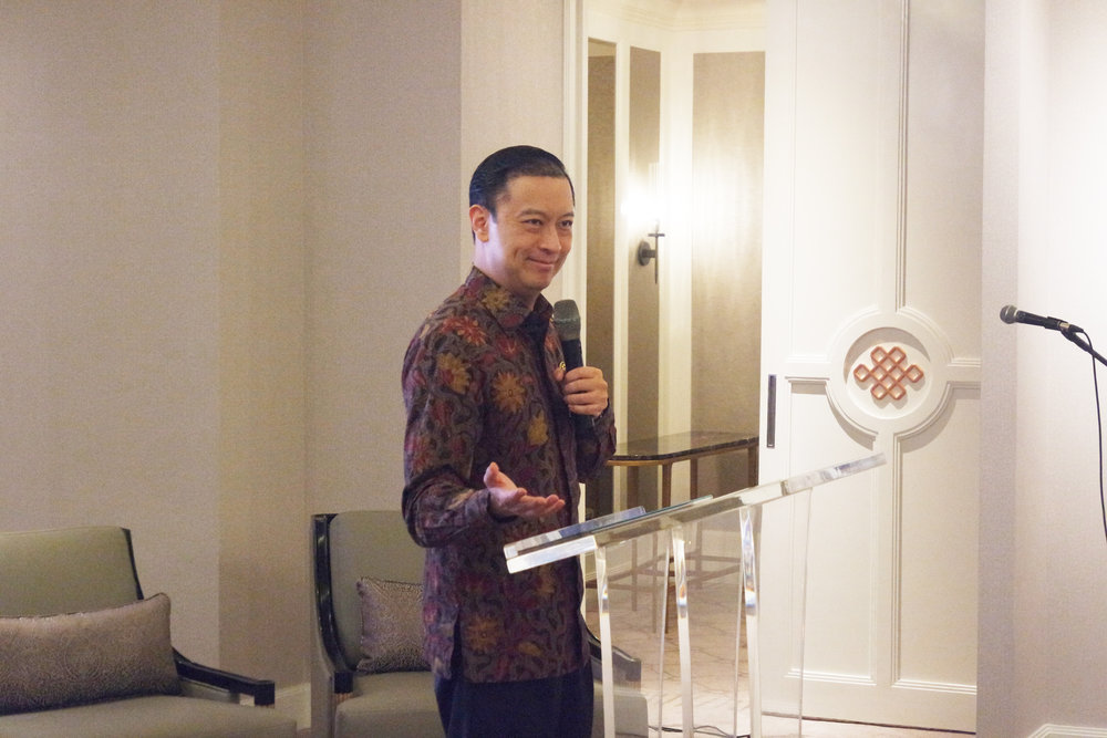 Thomas Lembong (Head of BKPM) talked about government role against corruption then and now in Indonesia . This seminar took place in Stature Marketing Gallery, Central Jakarta.