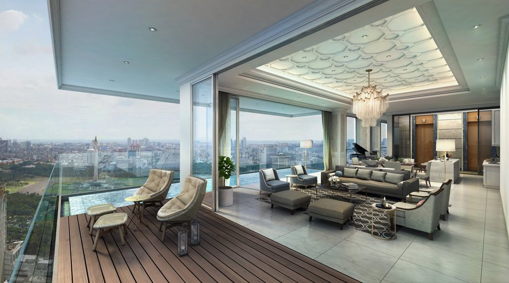 pictured: Sky Villa at The Stature Residence