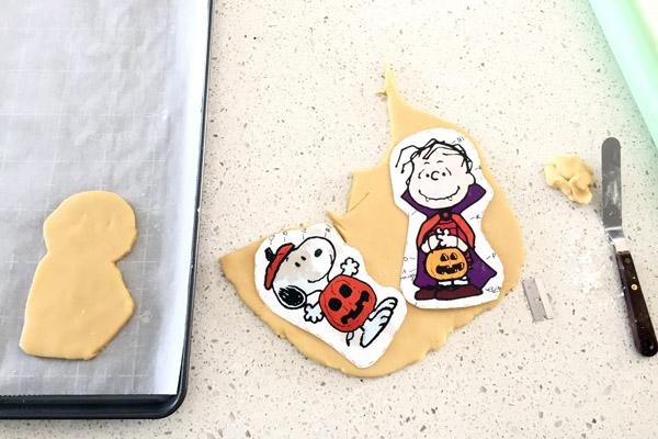 Peanuts Halloween Cookie Dough