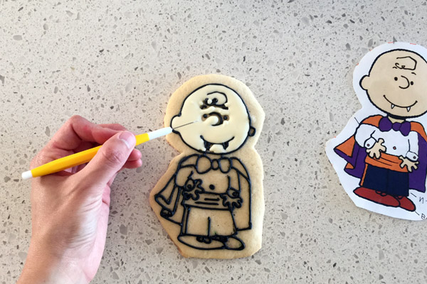 Peanuts Halloween Cookie Scribe