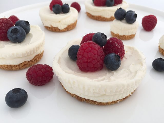 easy no bake cheesecake