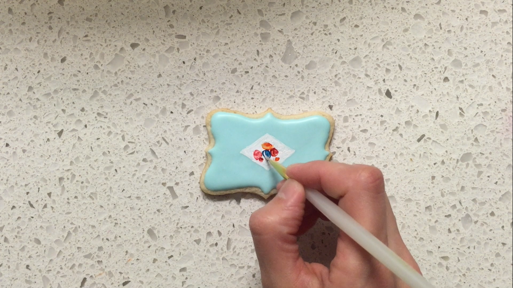 Porcelain Inspired Cookies 6