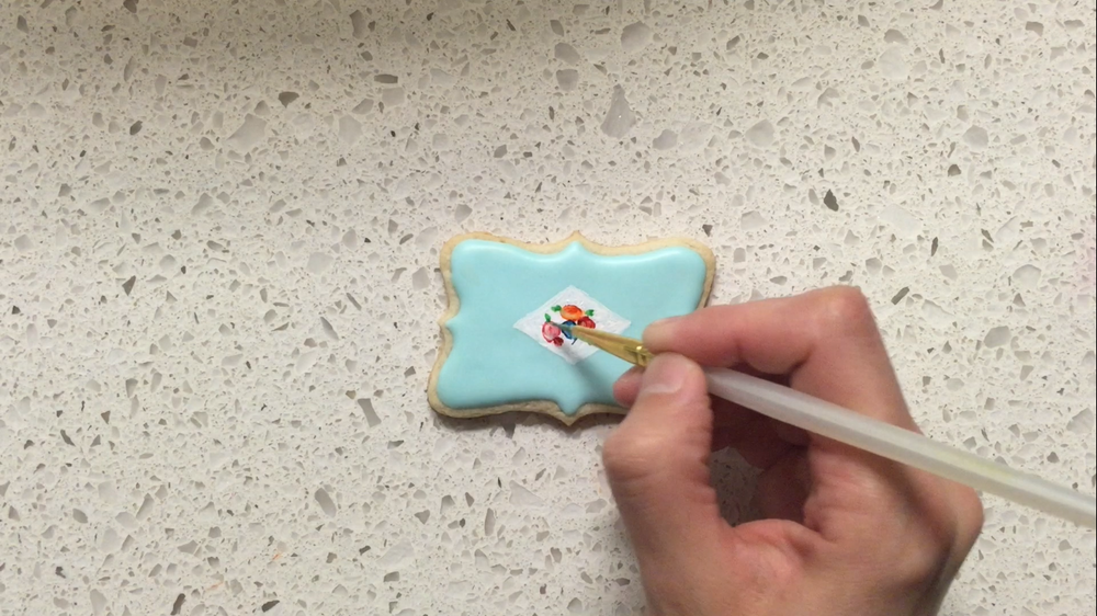 Porcelain Inspired Cookies 7