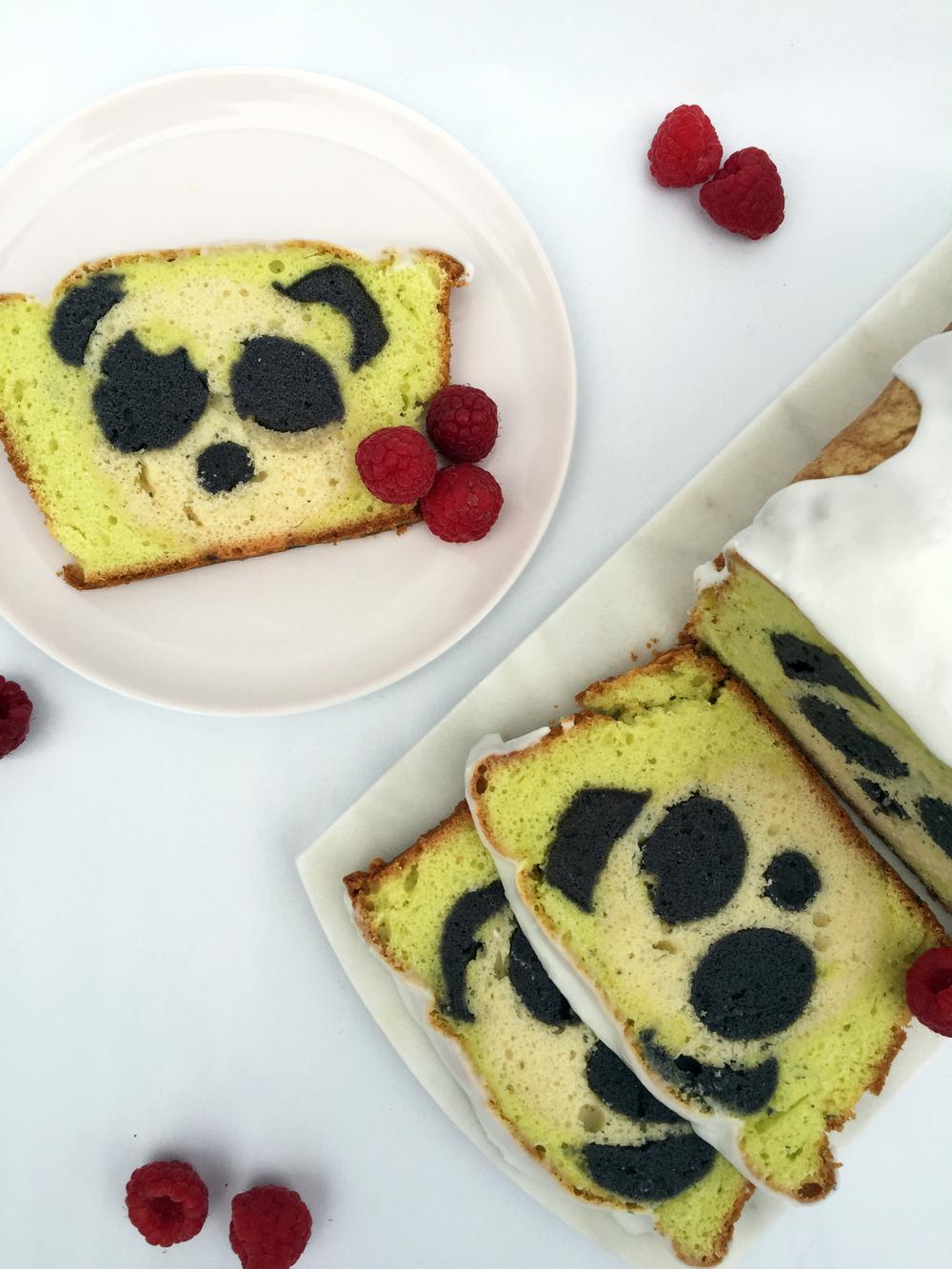 Surprise Panda Cake Overhead