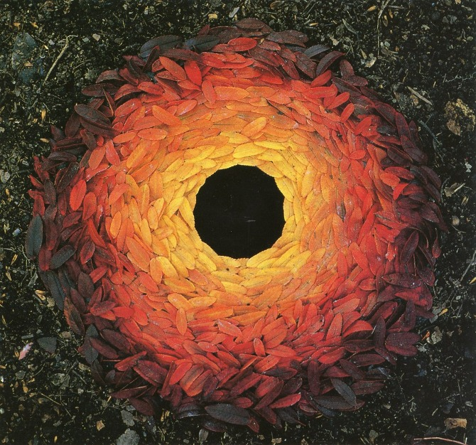 Artist Andy Goldsworthy.