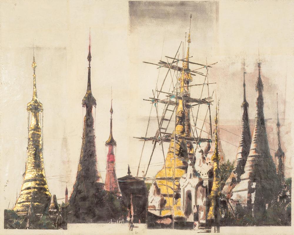 Burmese Stupa II