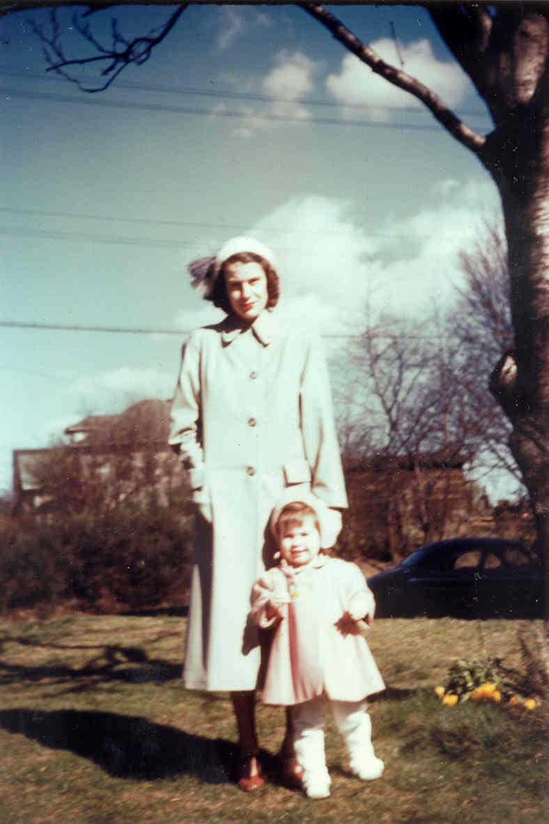 BETTY GENE WALKER & CATHERINE, 1949