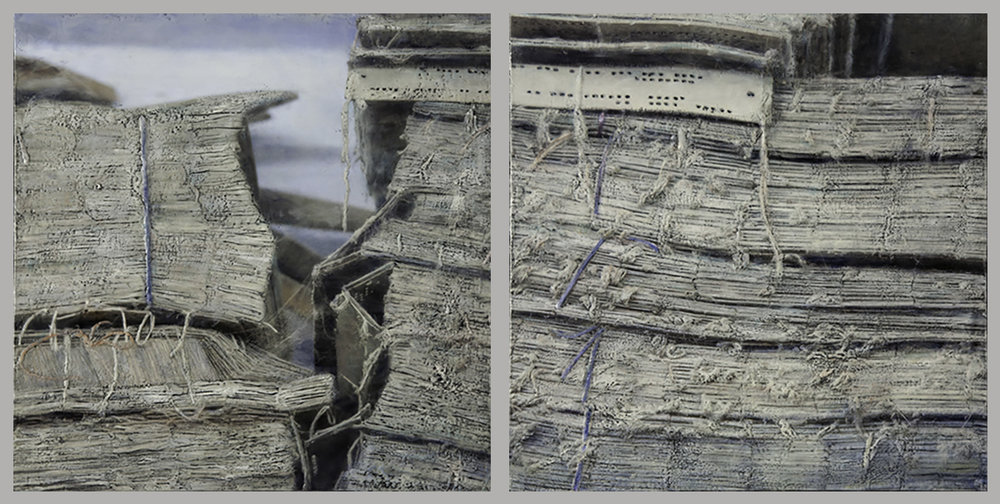 Accumulations I, Diptych