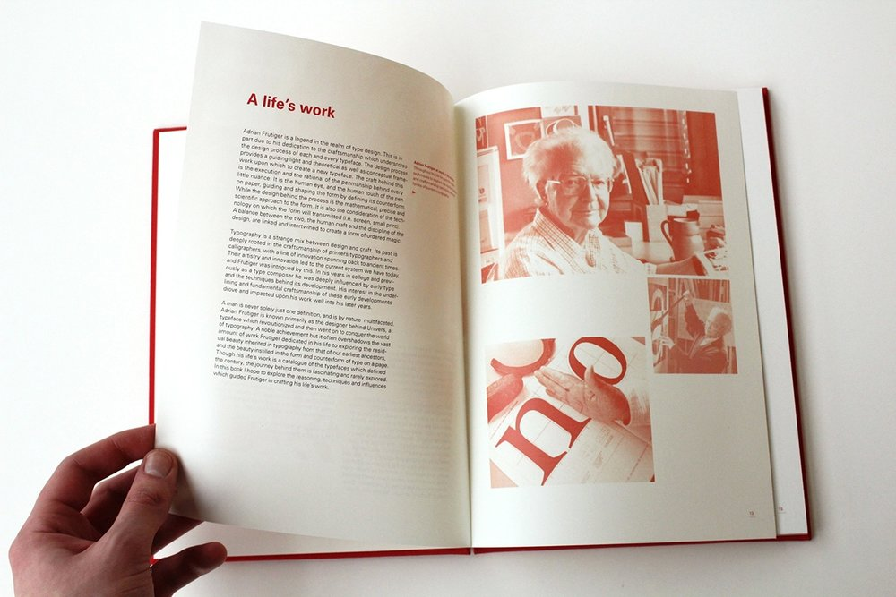 Adrian Frutiger Craftsman | Typographer | Scholar