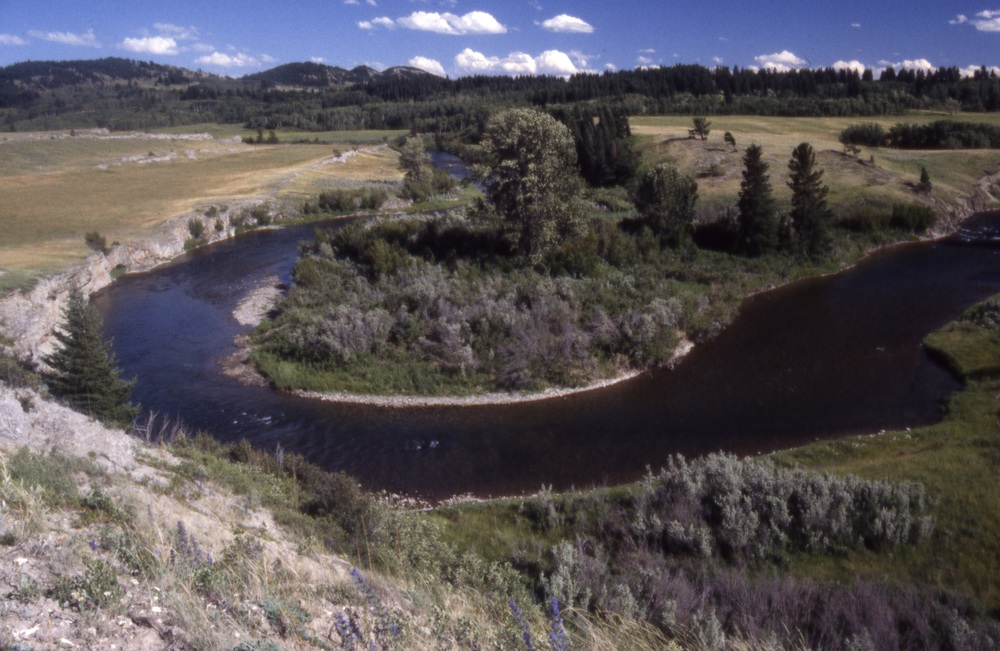 Figure 10. Crowsnest River, Alberta.