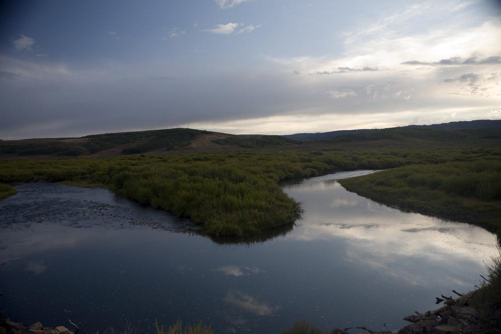Figure 11 . Hams Fork, Kemmerer, Wyoming.