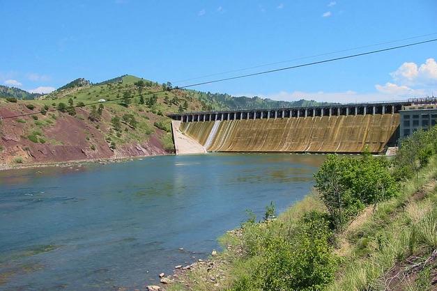 Holter Dam, Missouri River, Craig, Montana