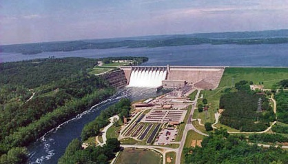 Bull Shoals Dam, White River, Arkansas