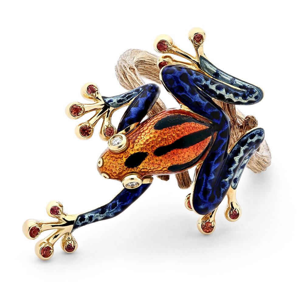 """""""Leaping Tree Frog""""<br><strong>Carina Wong</strong><br>Hong Kong"""