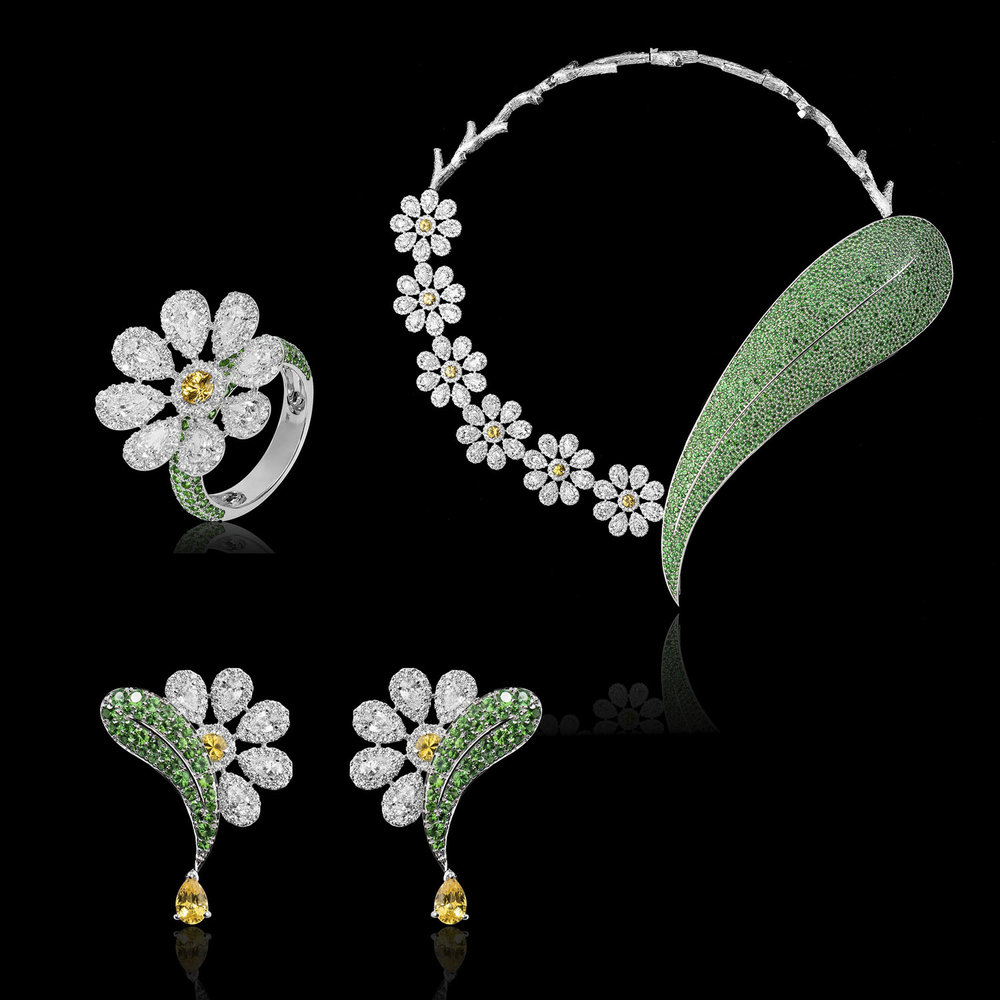 """The White Daisy Set""<br><strong>Pavit Gujral</strong><br>Chandigarh, India"