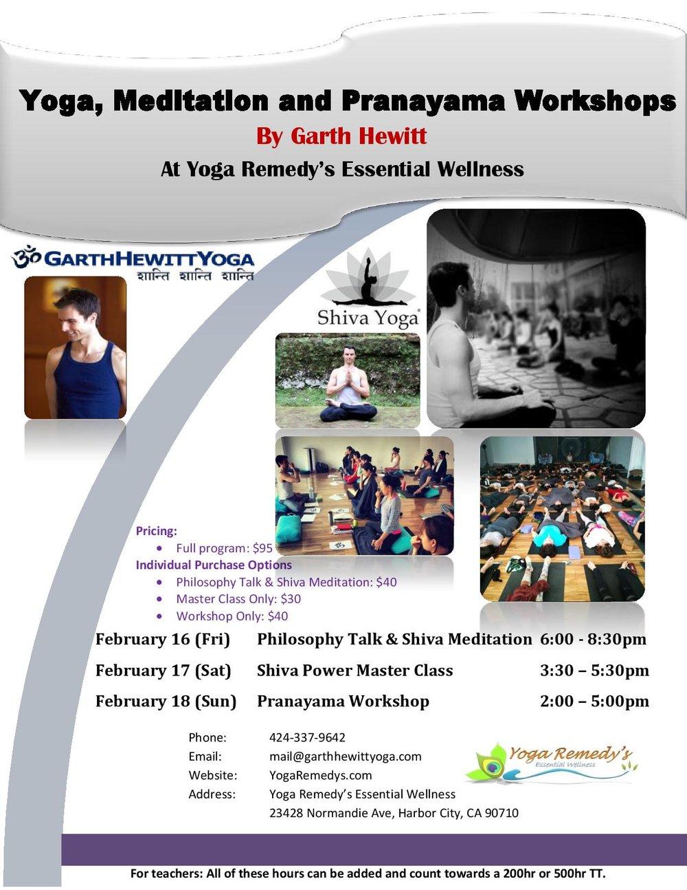 Workshop 95 Addressing Students >> Yoga Meditation And Pranayama Workshops Yoga Remedy S Essential