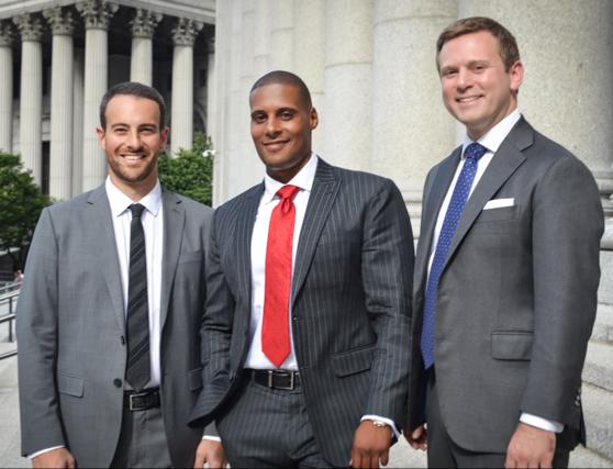 Partners Joshua Moskovitz, Lance Clarke, and Andrew Bernstein (l-r)