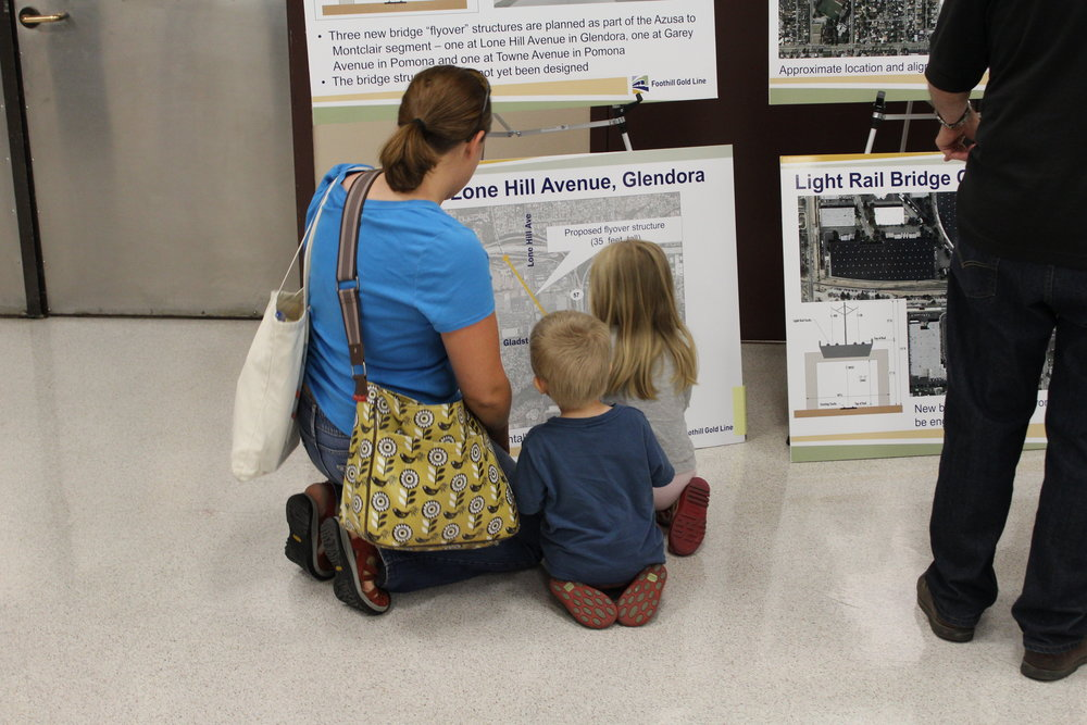 Foothill Gold Line_Open House_La Verne_04162015.JPG