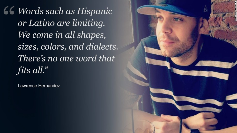 By Cindy Y. Rodriguez Which is it, Hispanic or Latino? If there's one thing everyone should know about Hispanics in the United States, it's that this rapidly growing minority has an undefined identity crisis. Why? Because of the confusion surrounding what to call people whose ethnic background is from Latin American and Spanish-speaking countries. Some even feel 100% American or 100% Latino -- or Hispanic, depending to whom you're talking to.