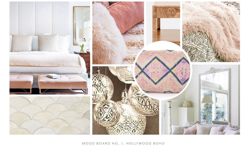 mood board interior design