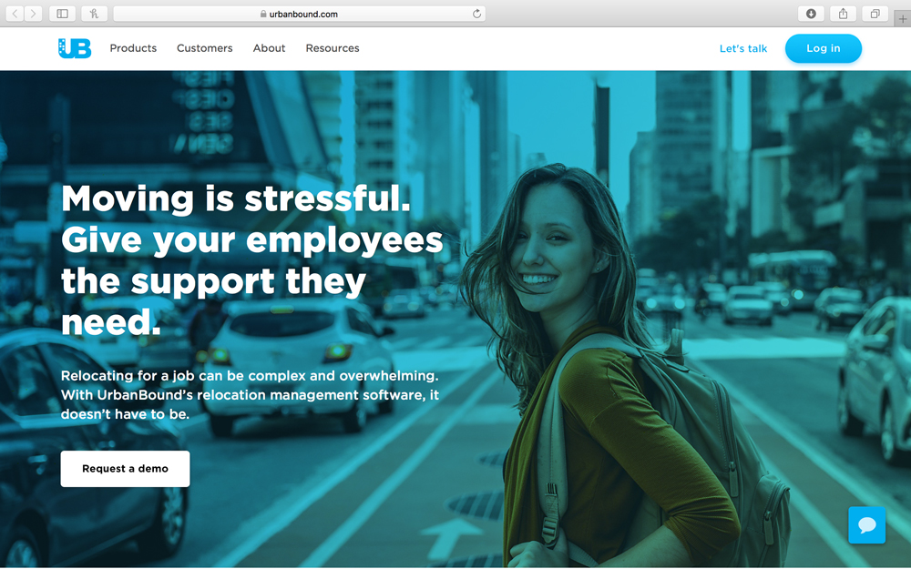 urbanbound - UrbanBound streamlines employee moves.  Its technology platform optimizes the employees' moving experience while providing tax efficient moving expense reimbursement for employers.  The platform saves employers millions in relocation expenses and provides great moving experiences for new employees.