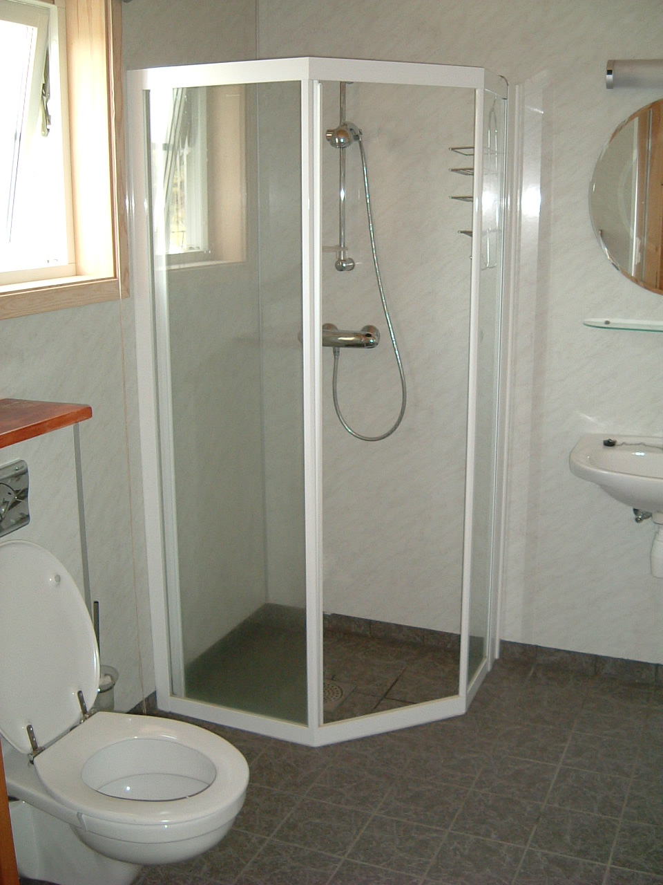 Showerroom groundfloor
