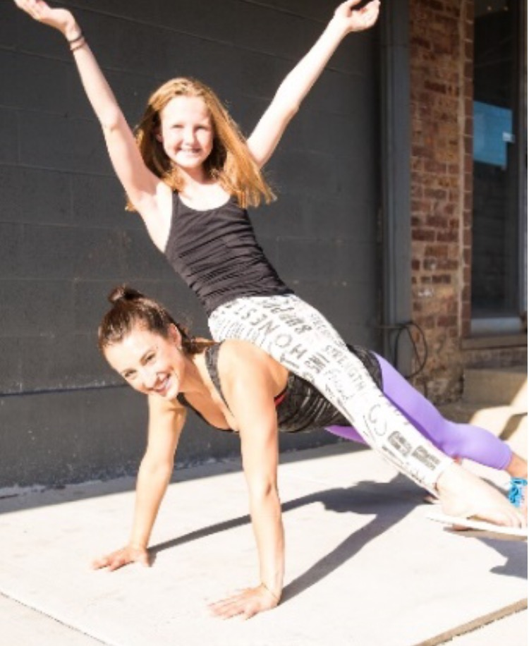 Strong Girls are Happy Girls. Kathleen loves to ignite that fire inside of everyone, no matter your age. BE FIERCE!