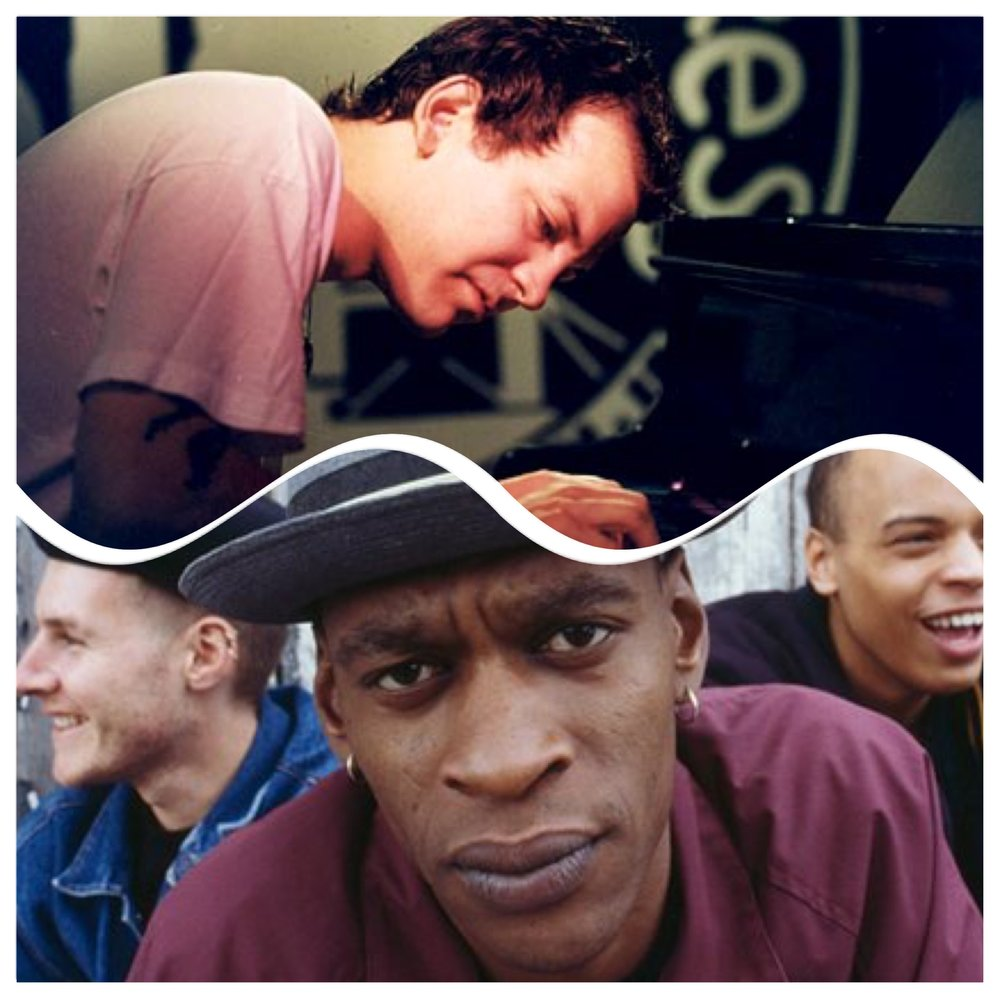 Brad Mehldau atop the Massive Attack boys