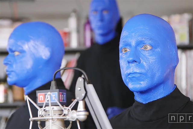 Blue + Men = Blue Man Group and a really good time