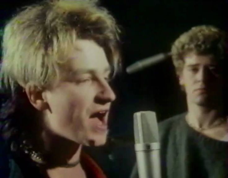 When Bono was Blonde and Adam Clayton showed a lil skin...