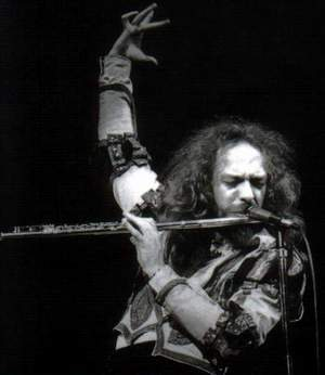 Maestro of Rock Ian Anderson... another kind of heavy metal