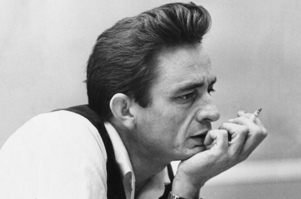 Today, try being a tough guy like Johnny Cash, he never backed down.
